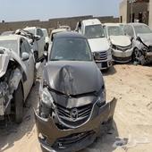 مازدا 6 عادي موديل 2018 مصدومة فيها جنب يسار والواجهه