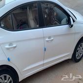 السيارة  هونداي - النترا الموديل  2020 السعر   57000 حالة ا