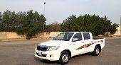 هايلكس غمارتين2012 GL سعودي العداد 170 ألفKM