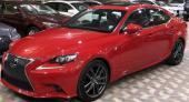 لكزس 2016 اف أسبورت lS 350 اللون احمر