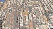 أرض للبيع شارعين 20 متر _حي المحمدية _مكة