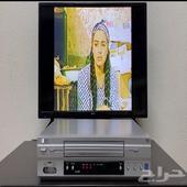 جهاز فيديو ال جي للأشرطة الكبيرة و ريموت