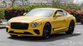 بنتلي Contenintal GT V12 موديل 2020 (جديد)