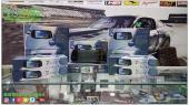مرايا وشاشة تدعم جميع السيارات 7بوصة الشكل الجديد