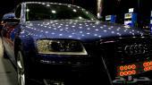 ( سيارة صاحب سمو ملكي ) اودي A8 2009