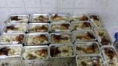ب11ريال وجبة مع عصير مع توزيع قرب الحرم