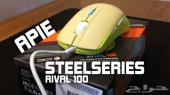 Gaming mouse STEEL SERIES RIVAL100 Gaia green