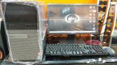 كمبيوترات ديل مكتبيه شبه الجديد i3 بسعر 850 ر