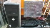 كمبيوتر مكتبي كامل اغراضه مستعمل نظيف 350ريال
