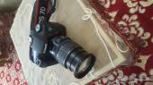 كاميرا كانون 7D شبه جديده