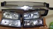 شمعات وشبك سلفرادو أصلي مستعمل 2003- 2006