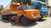 شاحنة مورسيدس 28 موديل 83  مع الجوانب