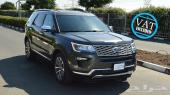 Ford Explorer Platinum Luxury Ecoboost grey