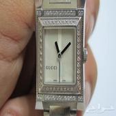 ساعة نسائية من غوتشي الماس وكاله