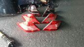 أصطبات خلفية مرسيدس CL فياقرا كوبيه 2005 W215