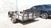 عربة للايجار تحمل دبابين