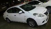 جدة - سيارة نيسان صنى 2012