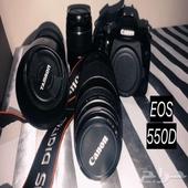 كاميرا كانون EOS 550D