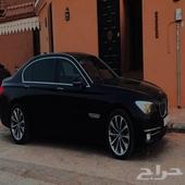 بي ام 2015 شبه مخزن ( ملكي اسود ) BMW740li