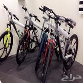 دراجات هوائيه (جبلي جنط مراوح) من شركه ال سفير