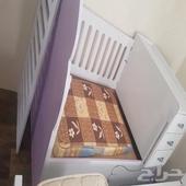سرير اطفال نظيف   سرير نفرين