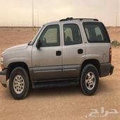تاهو موديل 2000 دبل مكيف اموره طيبة لوحات كويتية