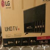 شاشه LG 55بوصه للبيع
