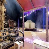 مخيم للايجار قبل نقطه الثمامه