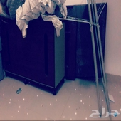 كنب صاله زاويه نظيف ومكتب