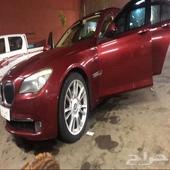 للبدل او البيع BMW750li 2009 اندفيجوال بي إم مخزن