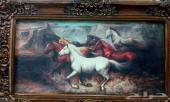 لوحة للبيع طول  1.5متر عرض 1 متر