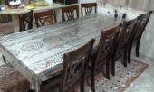 طاولة طعام 8 اشخاص