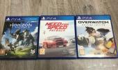 العاب PS4 اوفرواتش ونيد فور سبيد وهورايزن
