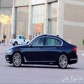 BMW li 740 الفئة السابعه