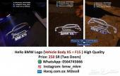 BMW بروجيكتور أبواب شعار F15 (تصميم مميز)