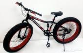 دراجة جبليه مزودة ب 7 سرعات مقاس 26