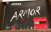 للبيع MSI RADEON RX 580 ARMOR MK2 8G OC جديد