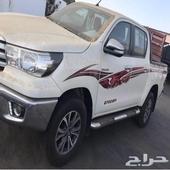 هايلوكس دبل توماتيك سعودي بنزين السياره تعتبر اصفار 2016