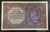 بولندا 1000 مارك عام 1919 اباوت انسر
