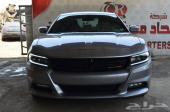 2016 دودج تشارجر sxt plus 3.6L V6 لون فضي