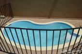 شالية غرفتين نوم مع مسبح خاص
