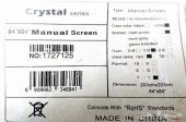 شاشة عرض بيضاء للبروجيكتر 203x203 جديد ماانفك