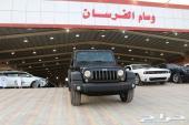 دودج - رانجلر 4 ابواب - 2016 -سقف صلب -سعودى