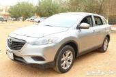مازدا CX9 موديل 2015 سعودي فضي