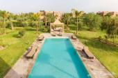 فيلا راقية 5 غرف ماستر للإيجار بمراكش بالمغرب