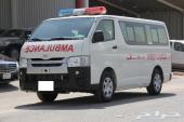 تويوتا باص اسعاف مجهز موديل 2014