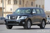 باترول تيتانيوم 2017 سعودي اسود بيج 400حصان