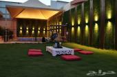 شاليهات ورود للحفلات والمناسبات 600 ريال VIP