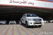 تويوتا هايلوكس S.GLX غمارتين 2012 اصفار سعودى