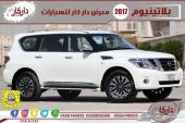 باترول بلاتينيوم 400 حصان موديل 2017 سعودي 8V